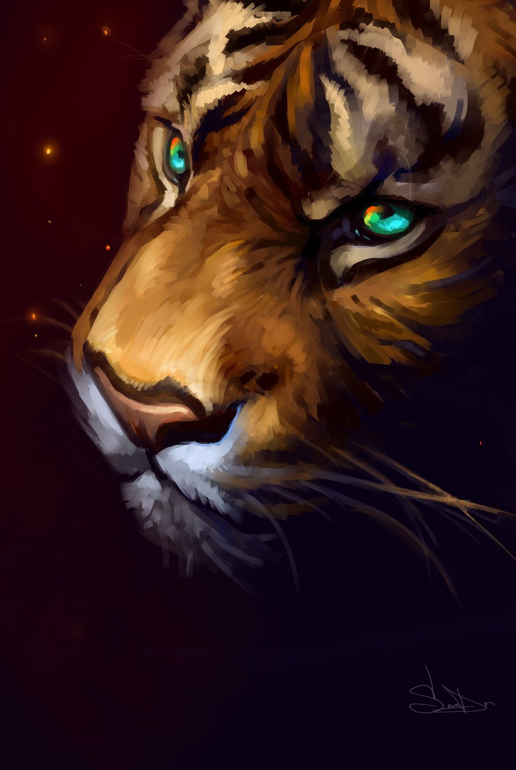 Tiger by SalamanDra-S.deviantart.com on @DeviantArt | Art ...