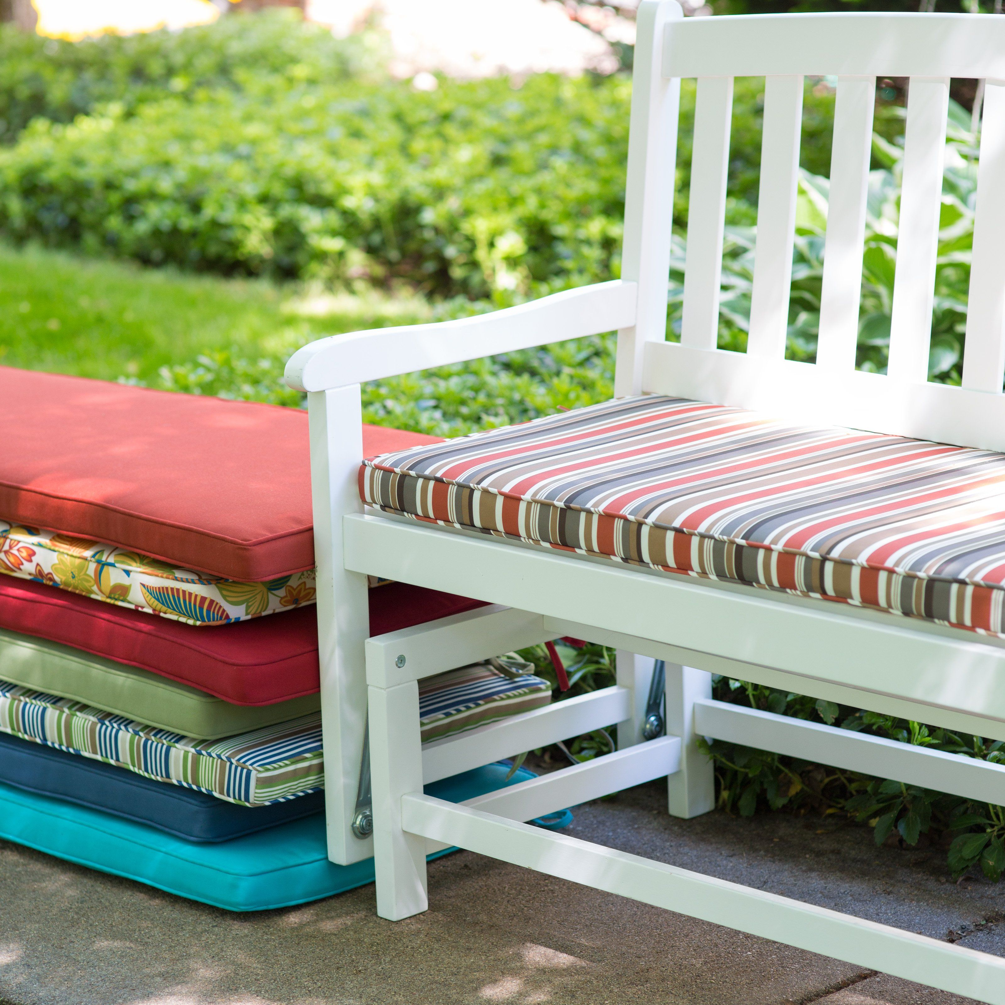 48 Inch Outdoor Bench Cushion Fascinating Modern Home Decoration