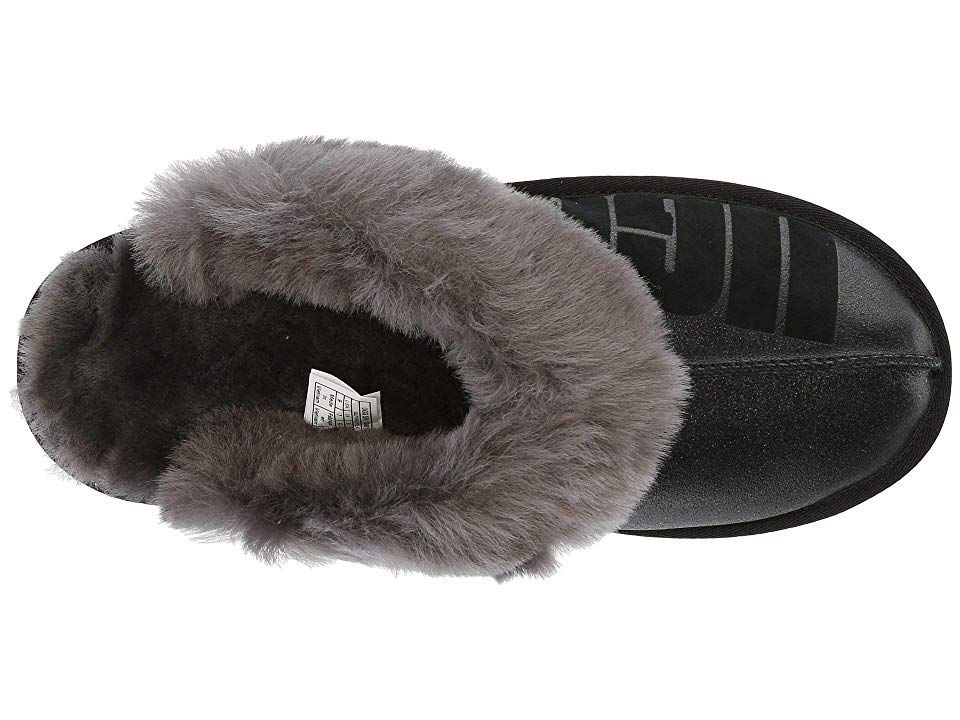 f2c64549b99 UGG Coquette Sparkle Women's Slippers Black   Products   Uggs ...