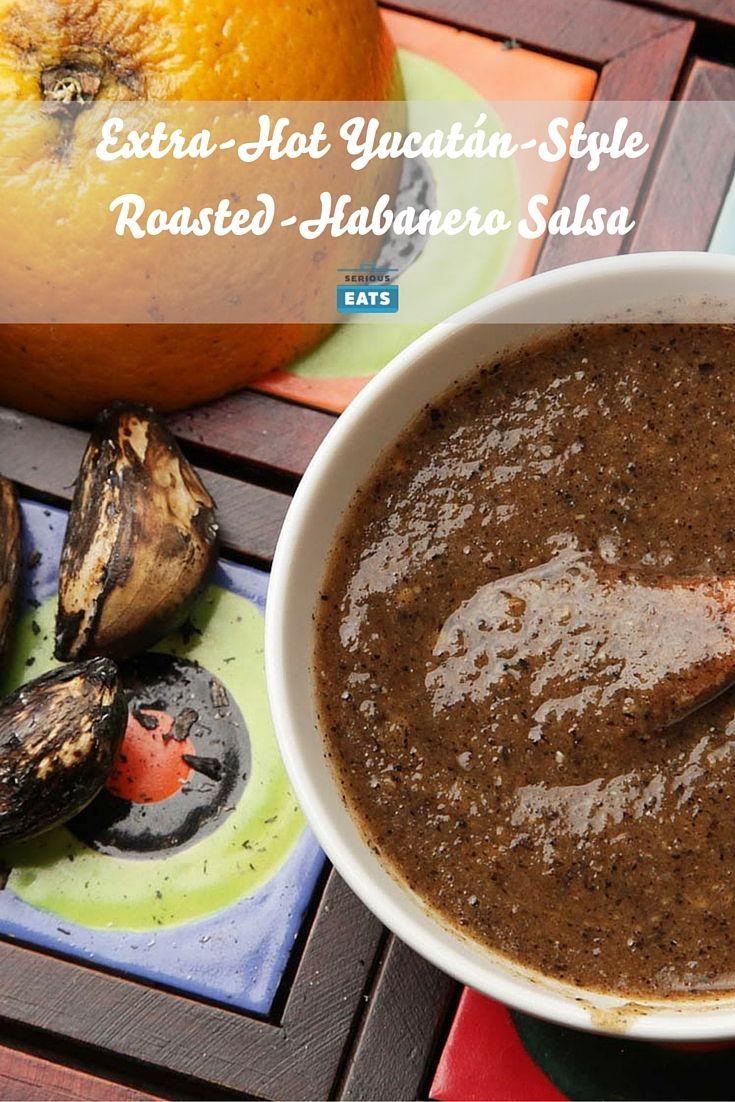 Extra-Hot Yucatán-Style Roasted-Habanero Salsa (Chile Tamulado ...