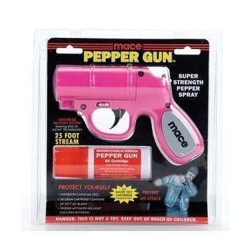 pink pepper spray gun