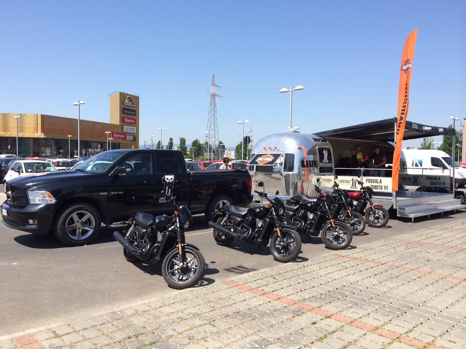 #HarleyDavidson #HDStreet750 on Tour