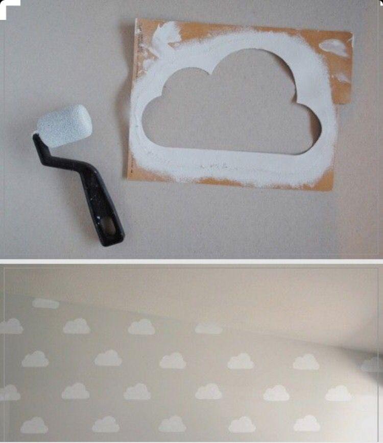 Cloud kids ! Pochoir pour crée vos nuages !