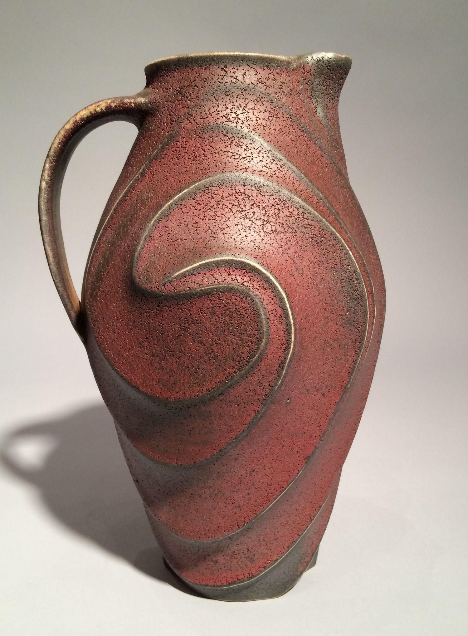 Porcelain Pitcher By Lin Xu Ceramic Pitcher Artful Home Ceramic Ware Ceramic Pitcher Pottery Pitcher