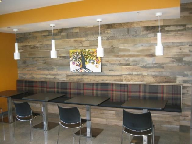 Design Elements: Beautiful Reclaimed Wood - Grey Barn Wood Paneling From Raw Sushi In Boise, ID RLP