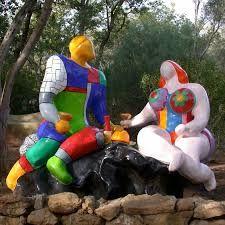 Niki de Saint Phalle - Sculpture - Couple
