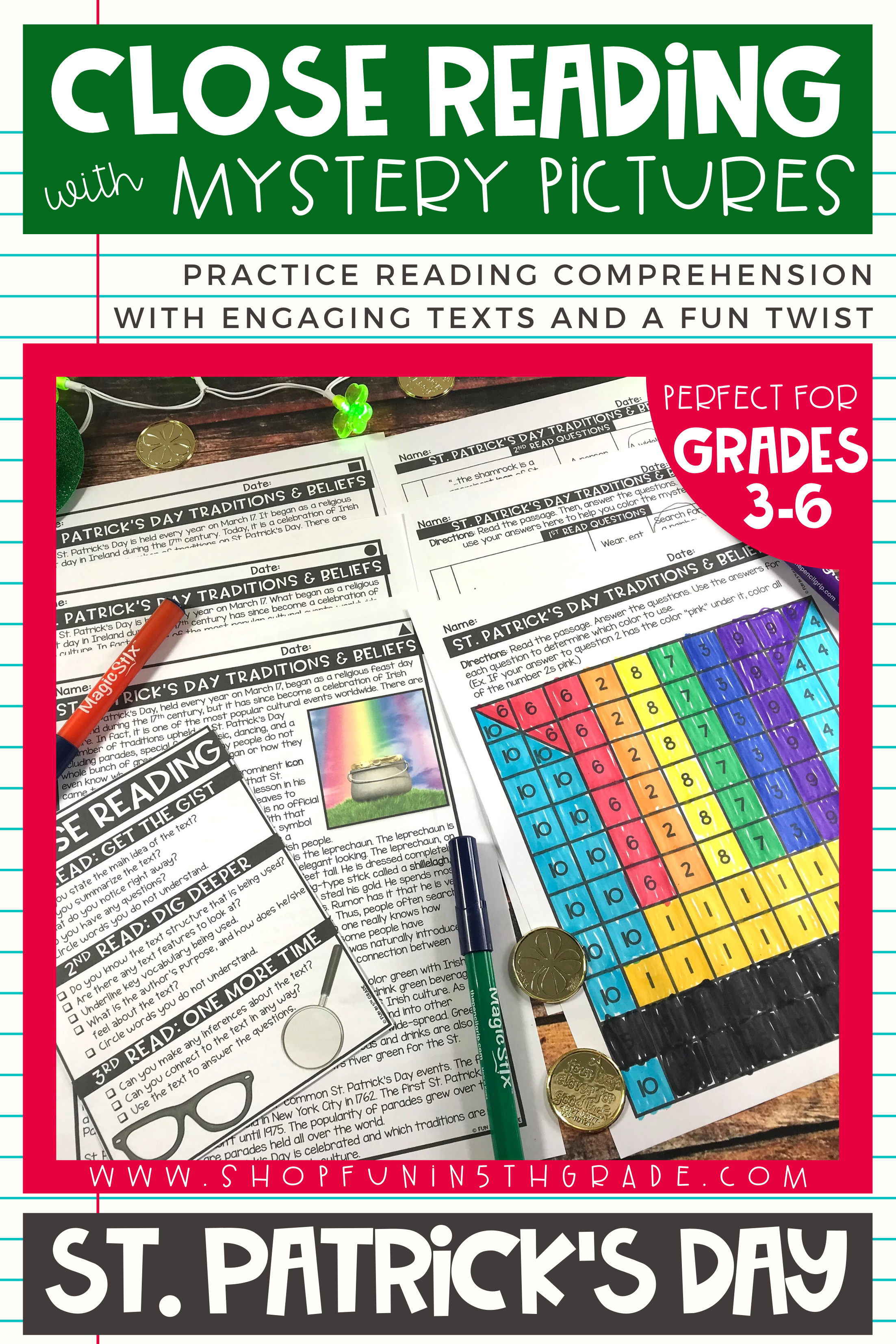 St Patrick S Day Reading Comprehension Passages