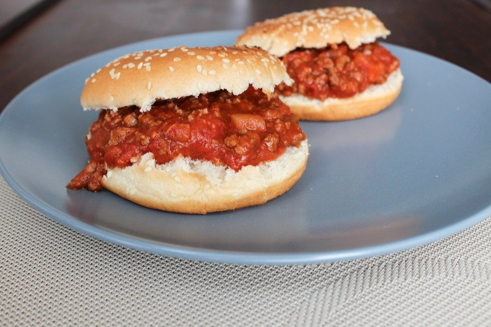 Need an easy dinner? Then try these sloppy joes! Done in 15 minutes! They are delicious with some ovenbaked potatoes and a salad!