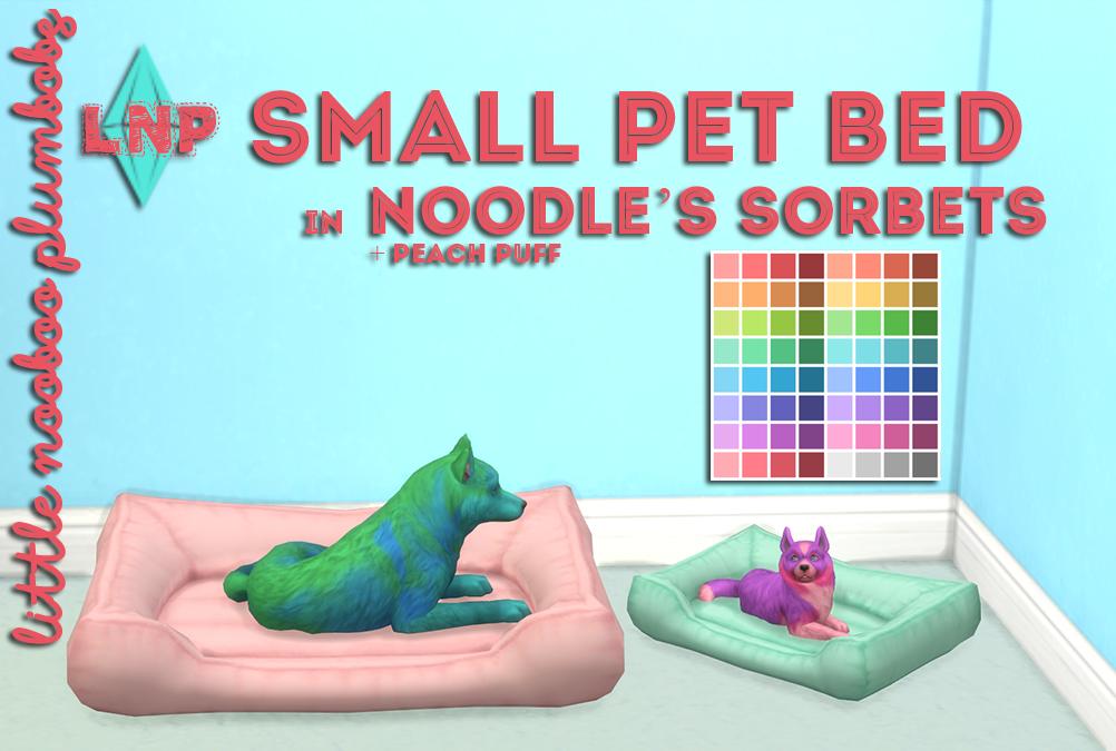 Littlenoobooplumbobs Small Pet Bed Mesh From
