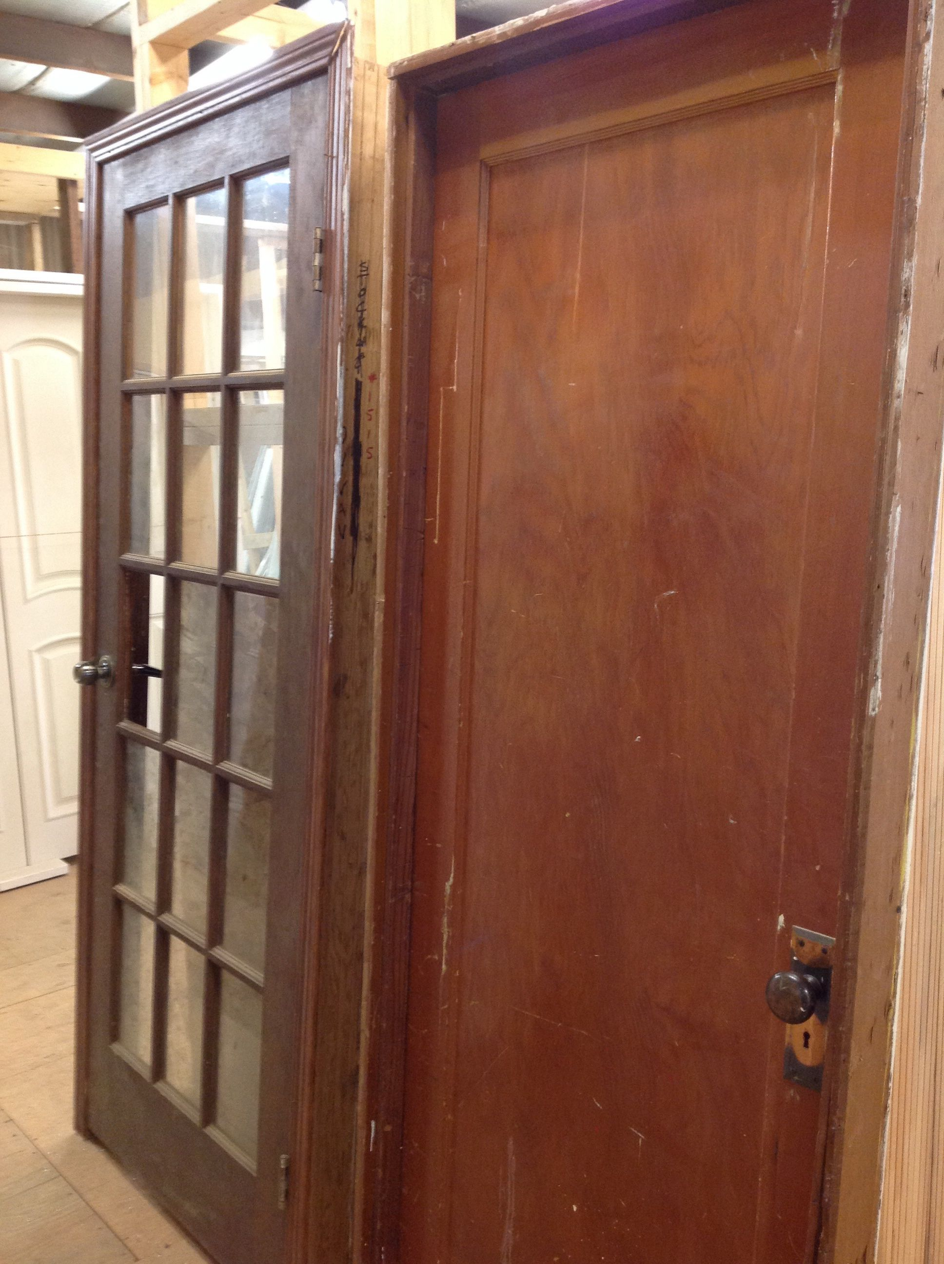 Reuse interior doors chilliwack new and used building for Interior door construction