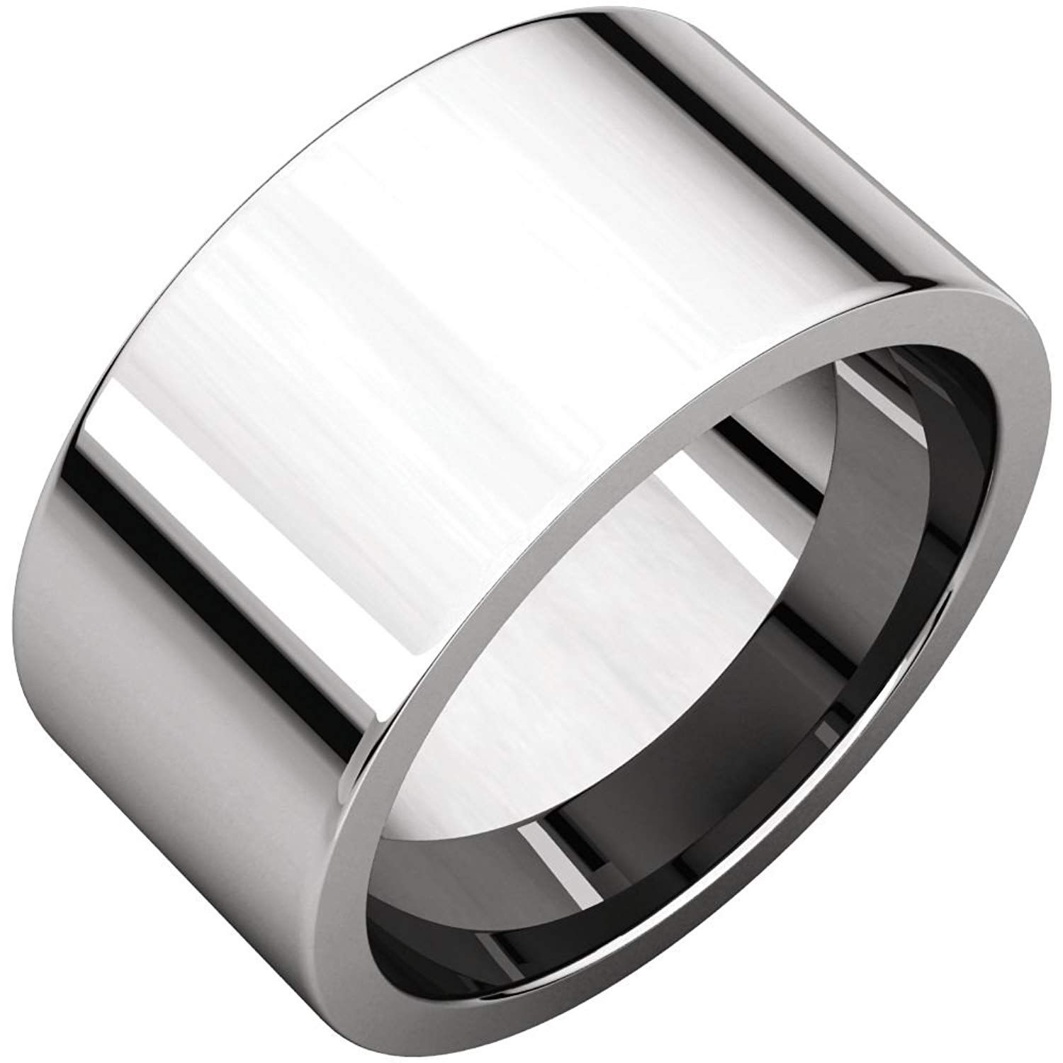 Bonyak Jewelry Sterling Silver Band for 5.5 mm Round Ring Size 7