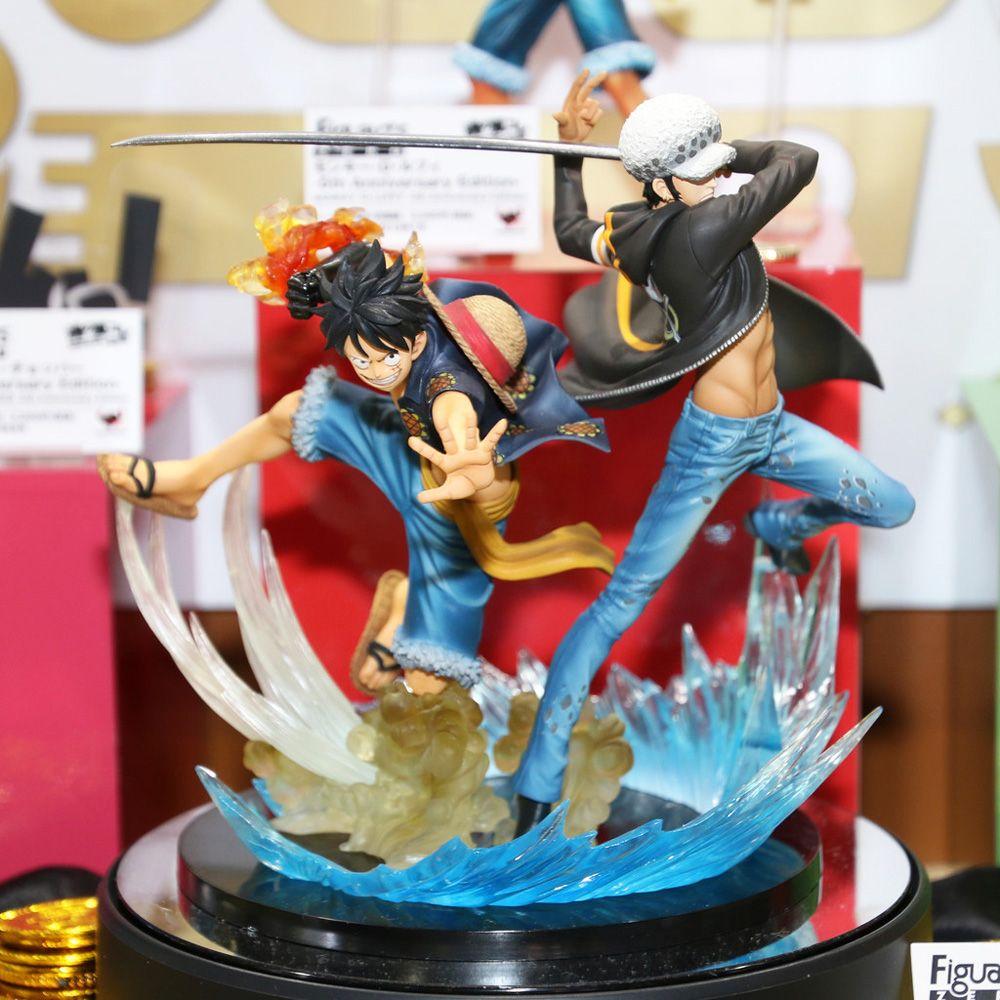 New Bandai Figuarts Zero One Piece Monky D Luffy /& Trafalgar Law 5th Edition