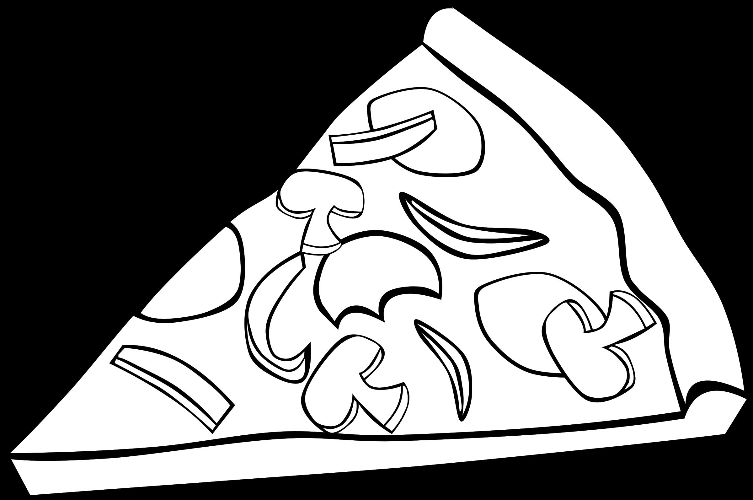 Pobarvanka Pizza