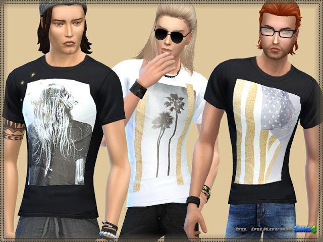 Shirts Palm Angel 1 at Bukovka • Sims 4 Updates