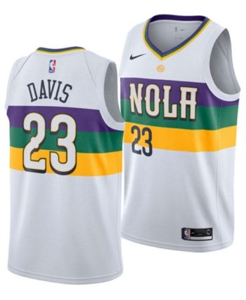 uk availability d809a 953f8 Nike Men's Anthony Davis New Orleans Pelicans City Swingman ...