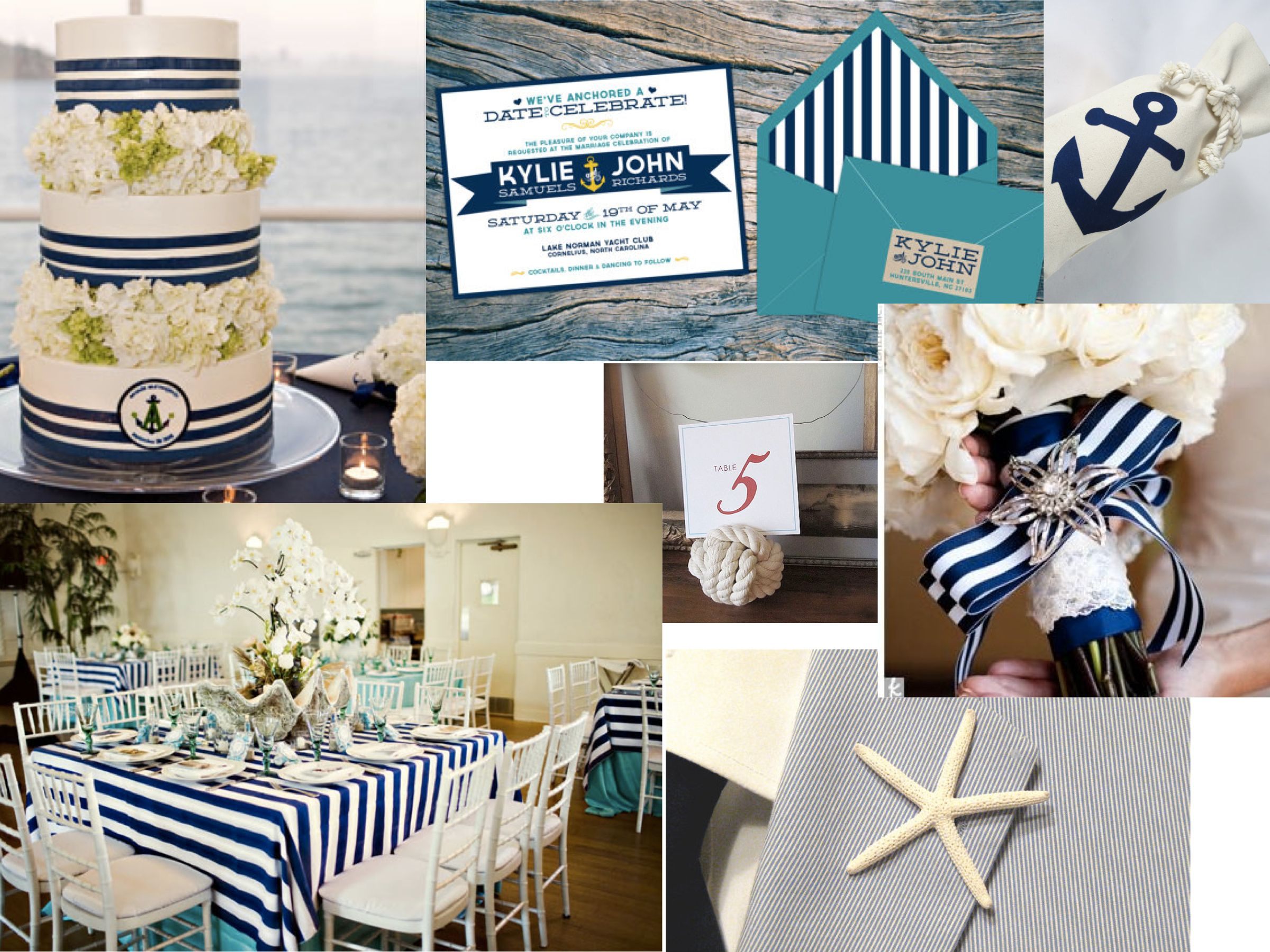 Nautical Themed Wedding Ideas