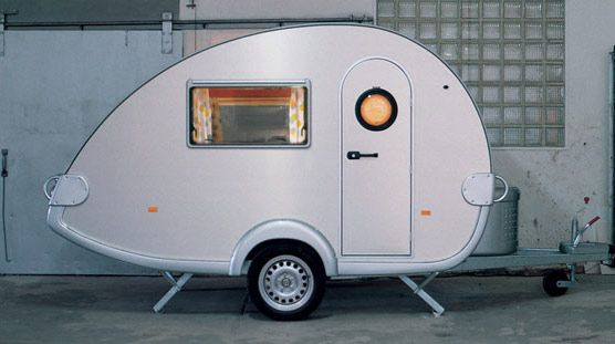 A classic teardrop from UK Caravan Company
