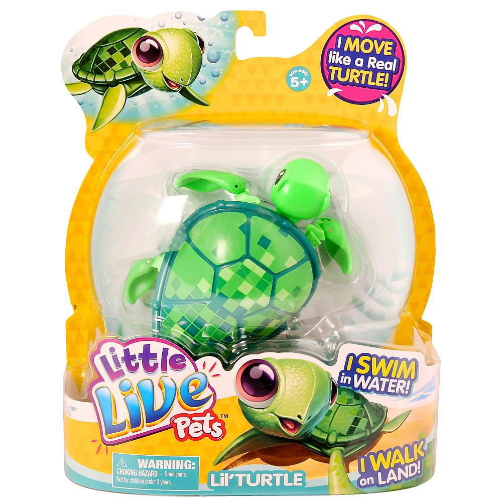Little live Pets Lil Turtle Single Pack Digi Moose