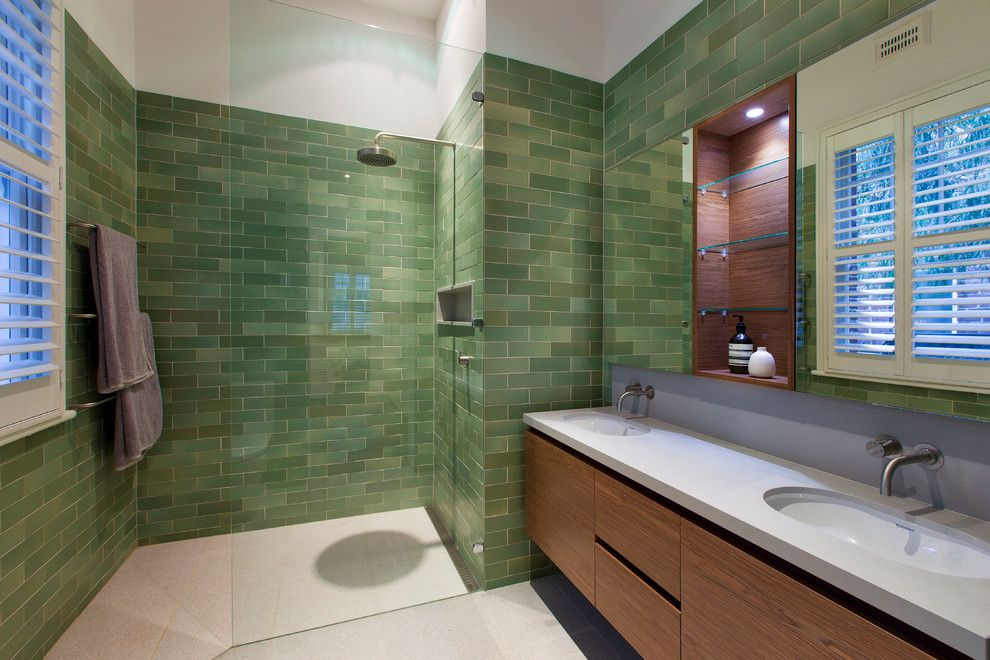 frameless shower door cost Bathroom Contemporary with glass shower ...
