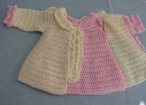 Ruffles Baby Dress And Matching Jacket Pattern By Donna Collinsworth