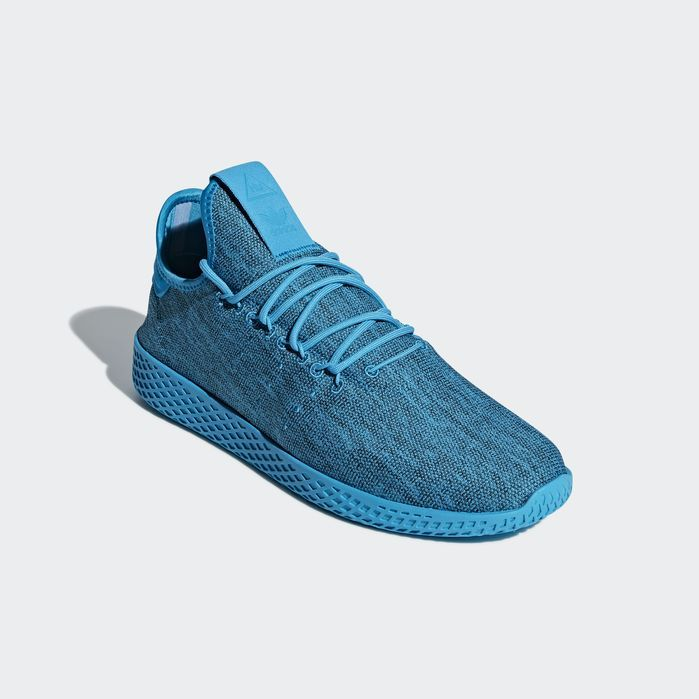 9e513a4702303 Pharrell Williams Tennis Hu Shoes Blue 12.5 Mens Williams Tennis