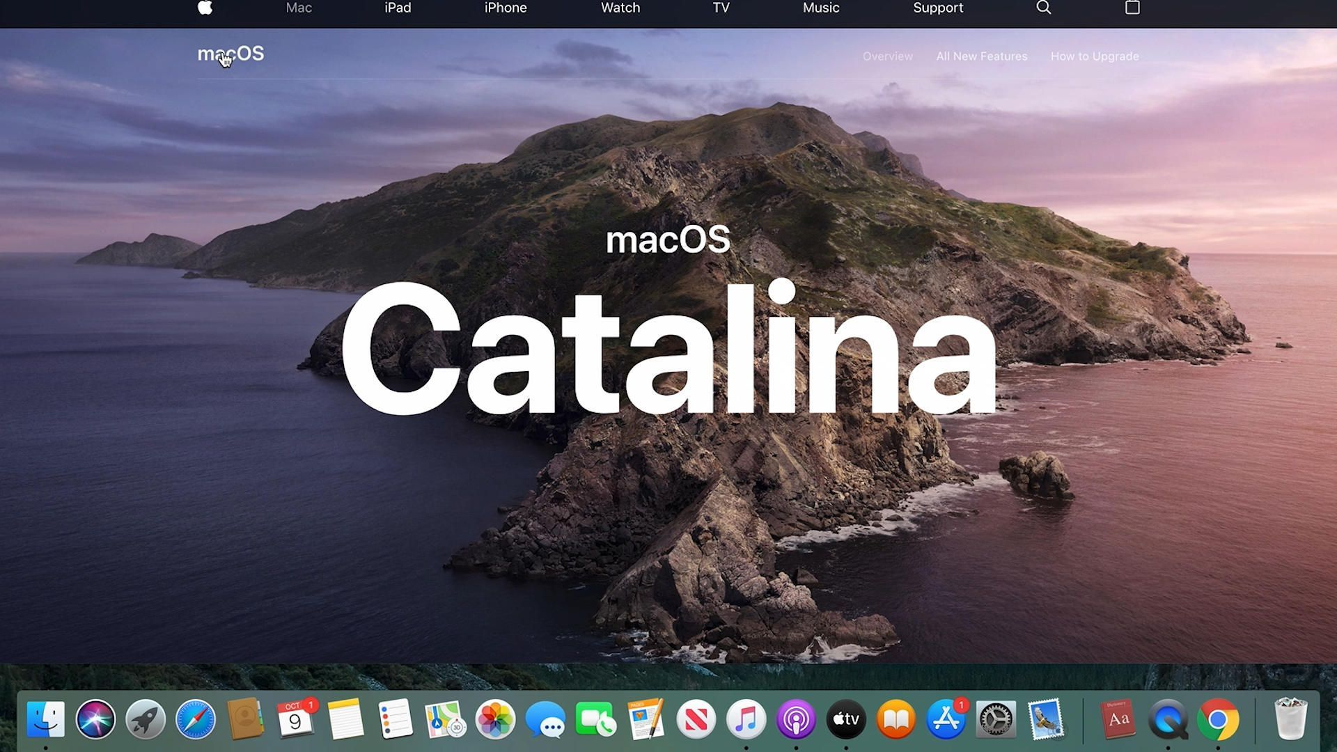 This Year S Annual Mac Update Keeps Things Interesting With A Renewed Focus On Services Catalina Apple Mac Mac