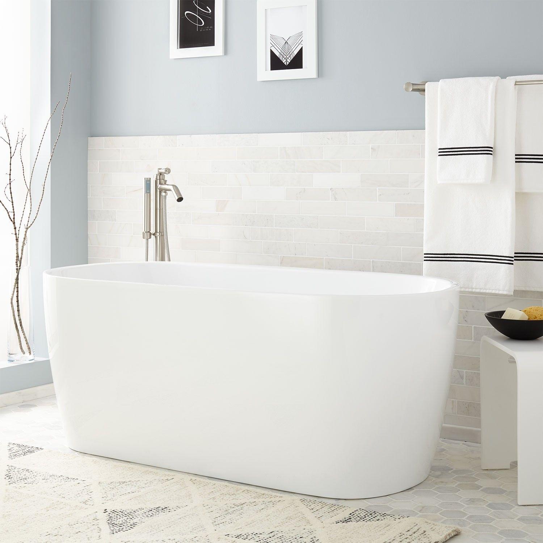 Mera Acrylic Freestanding Tub | Air tub, Tubs and Freestanding tub