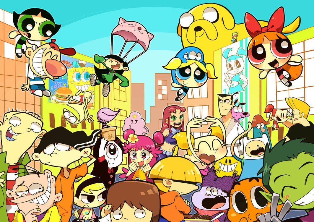 30 Obras De Arte Que Todos Los Fans De Cartoon Network Amaran Tkm Chile Personajes De Cartoon Network Arte De Historietas Programas De Dibujos Animados