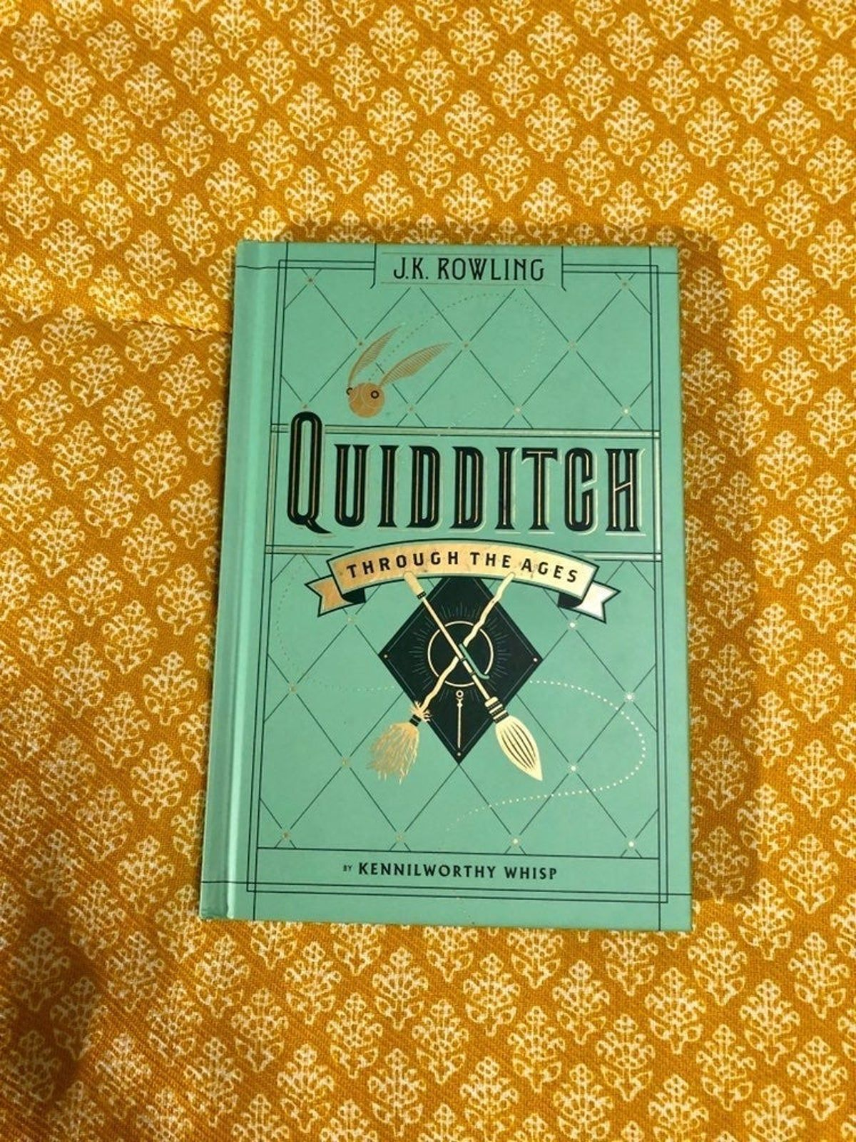 Quiditch Through The Ages Harry Potter Books Series Jk Rowling Books Harry Potter Merch
