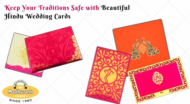 Keep Your Traditions Safe with Beautiful Hindu Wedding Cards ...