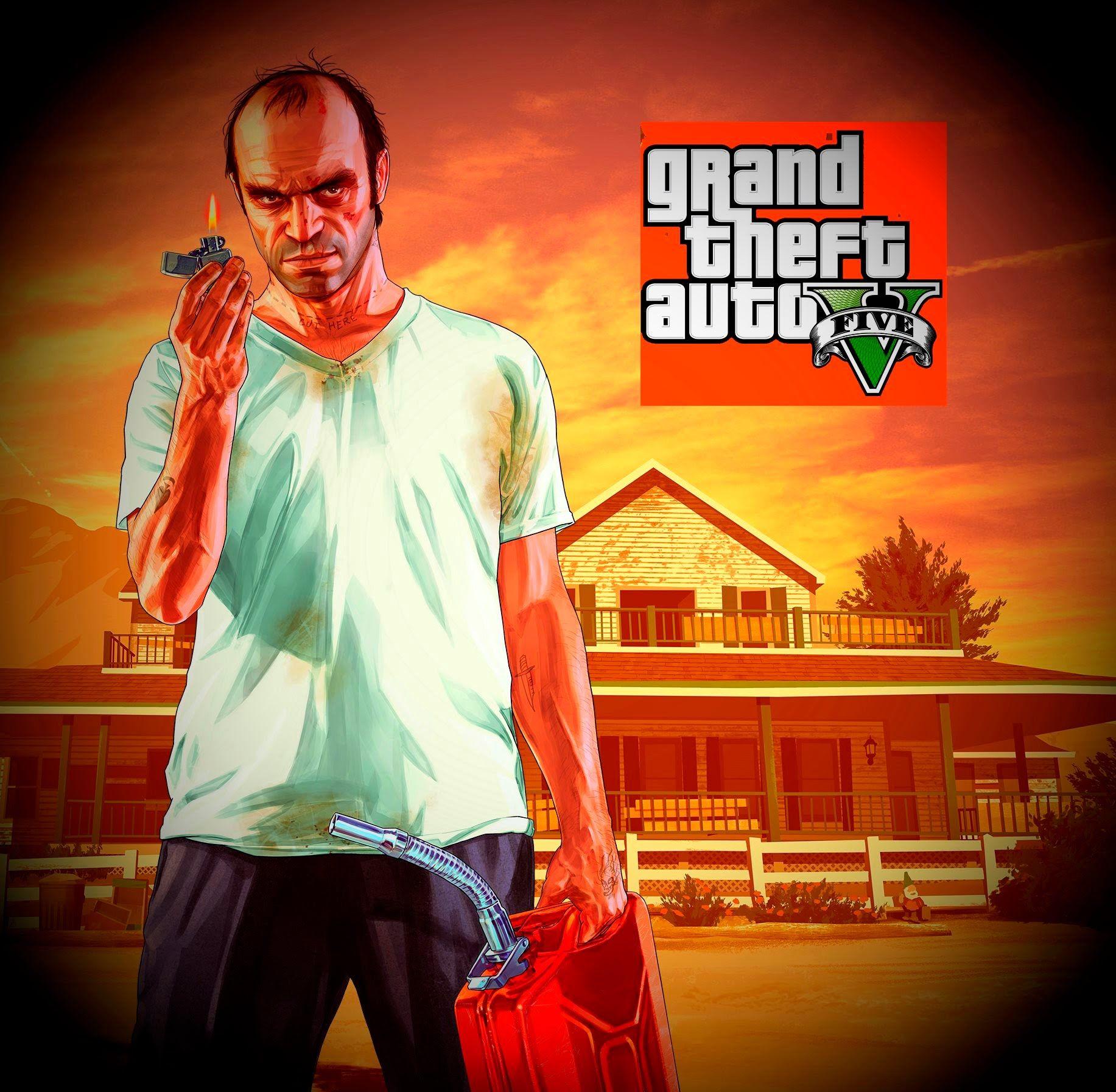 Grand Theft Auto 5 Story Mode Rob's Liquor Holdup