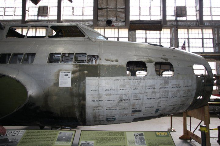 B-17D, The Swoose, one of the last known intact D-models in existence, NMUSAF Restoration Hangar, WPAFB, OH (2010)
