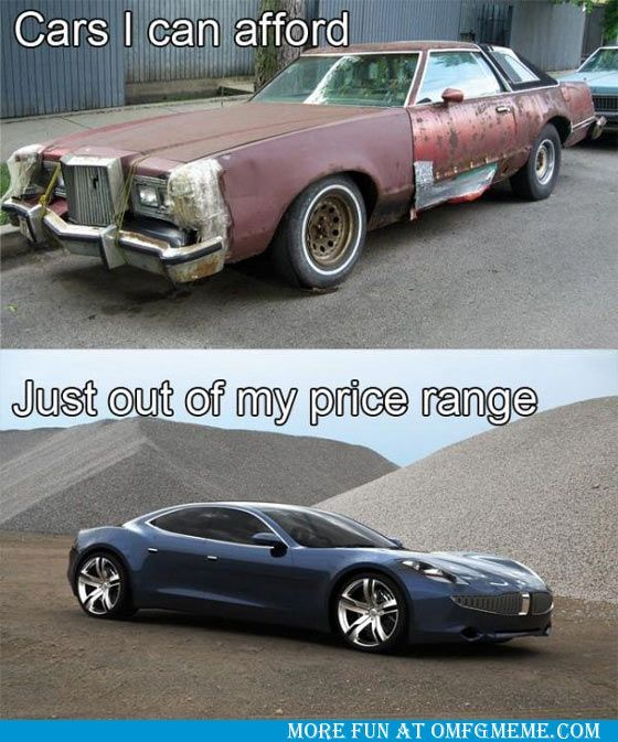 Image result for price of cars meme