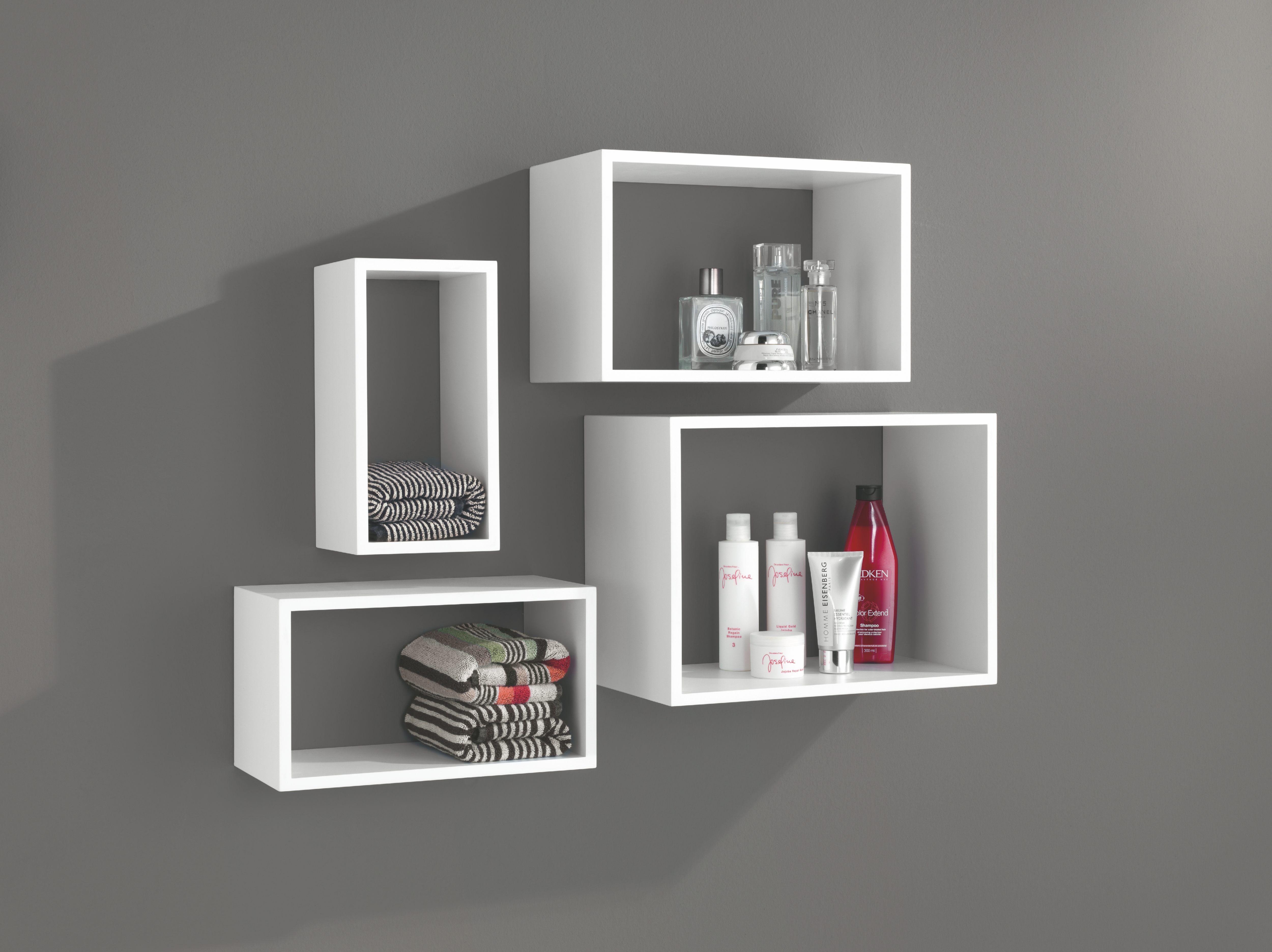 Windows Floating Shelf Set White Inredning