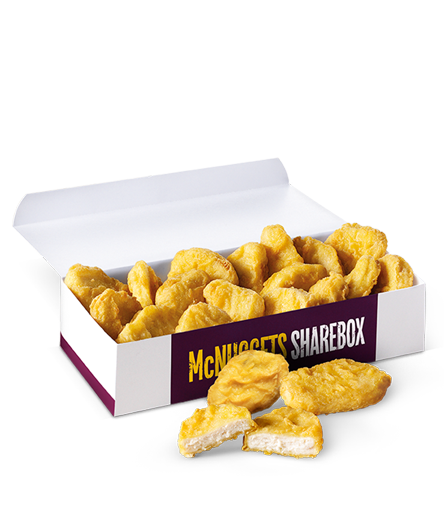 20 Chicken McNuggets® ShareBox® :: McDonalds.co.uk