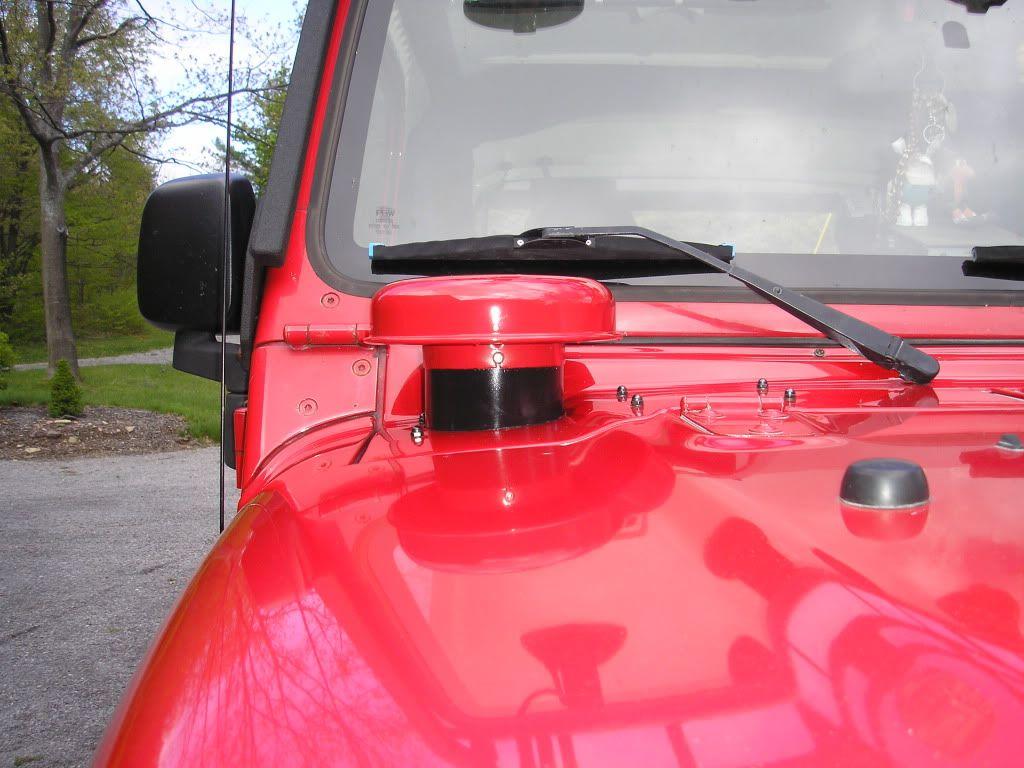 Tj Hummer Cold Air Intake Jeep Zj Jeep Wrangler Forum Jeep Tj