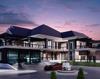 36x20 House 2 Bedroom 2 Bath 720 sq ft PDF Floor Plan Instant Download Model 2A