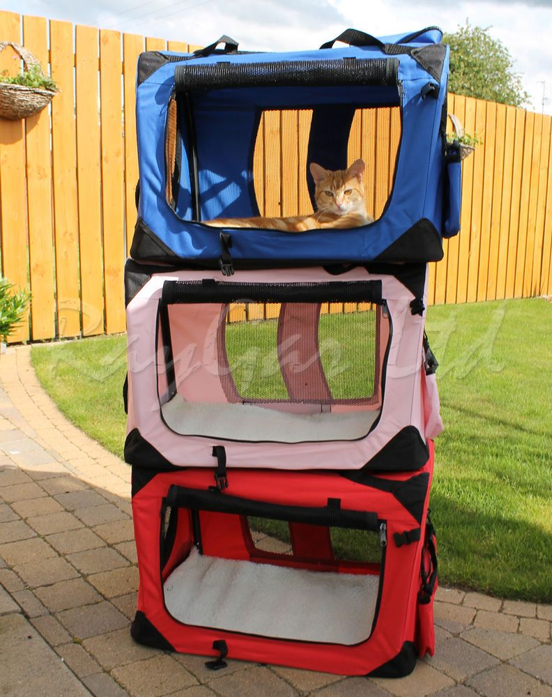 Details About Raygar Pet Carrier Soft Crate Portable Foldable Fabric Diy Dog Crate Cat Crate Crates