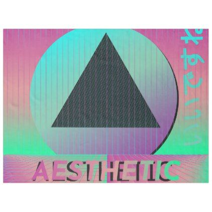 Vaporwave Aesthetic blanket home gifts Pinterest Cool gifts