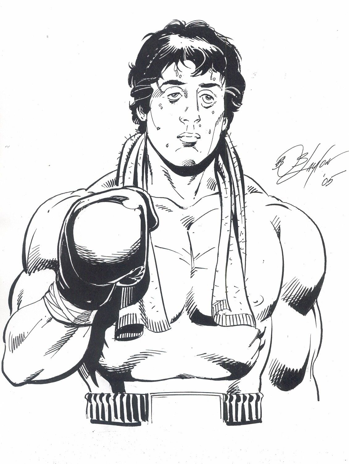 Pin By Matt Waghorn On Pen Ink With Images Rocky Balboa