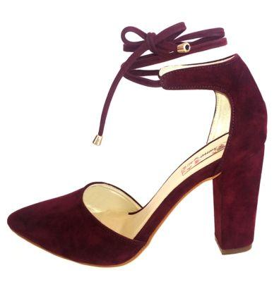 377ada5fa Scarpin Blume Folk Marsala in 2019 | zapatos | Saltos scarpin ...