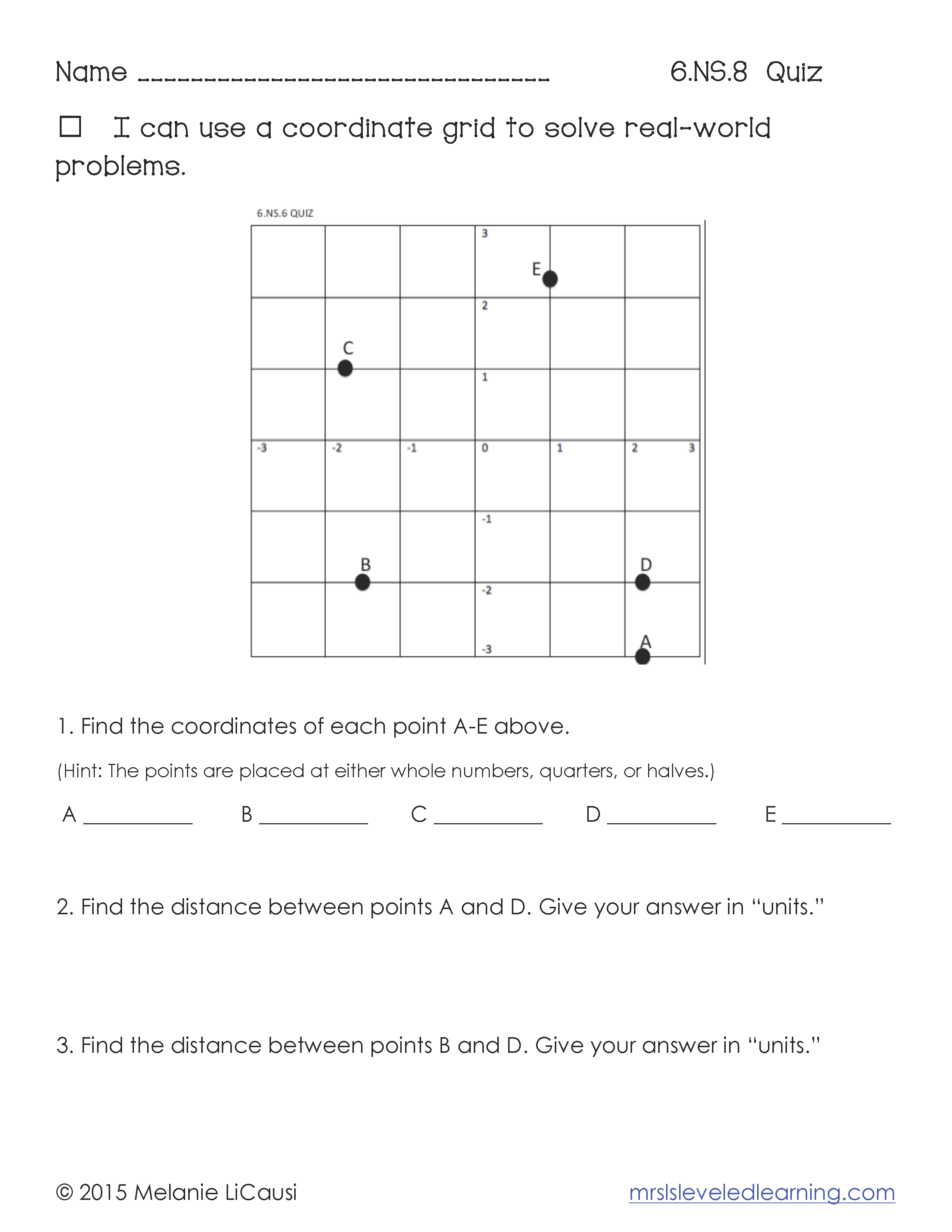 Free Common Core Math Quizzes Grades 3 8 Sign Up On My