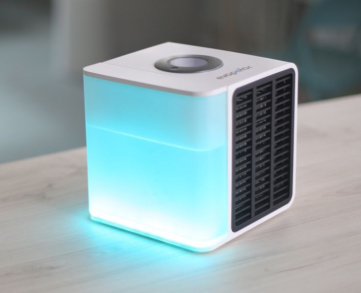 Evapolar Your Own Personal Air Conditioner Cool Inventions Technology Gadgets Tech Gadgets