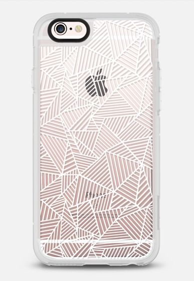 Ab 2 Repeat Transparent iPhone 6s case by Project M | Casetify