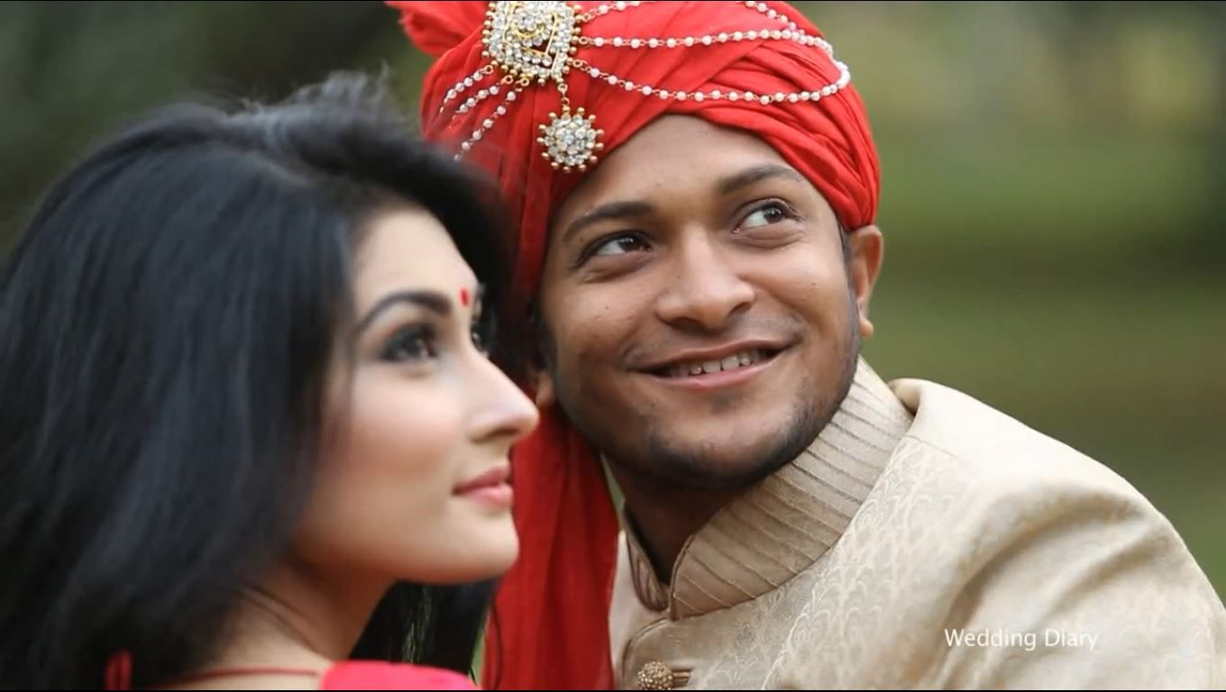 Image result for shakib and his wife