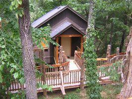 Oakcrest Cottages Treehouses Eureka Springs Lodging Eureka Springs Arkansas Eureka Springs