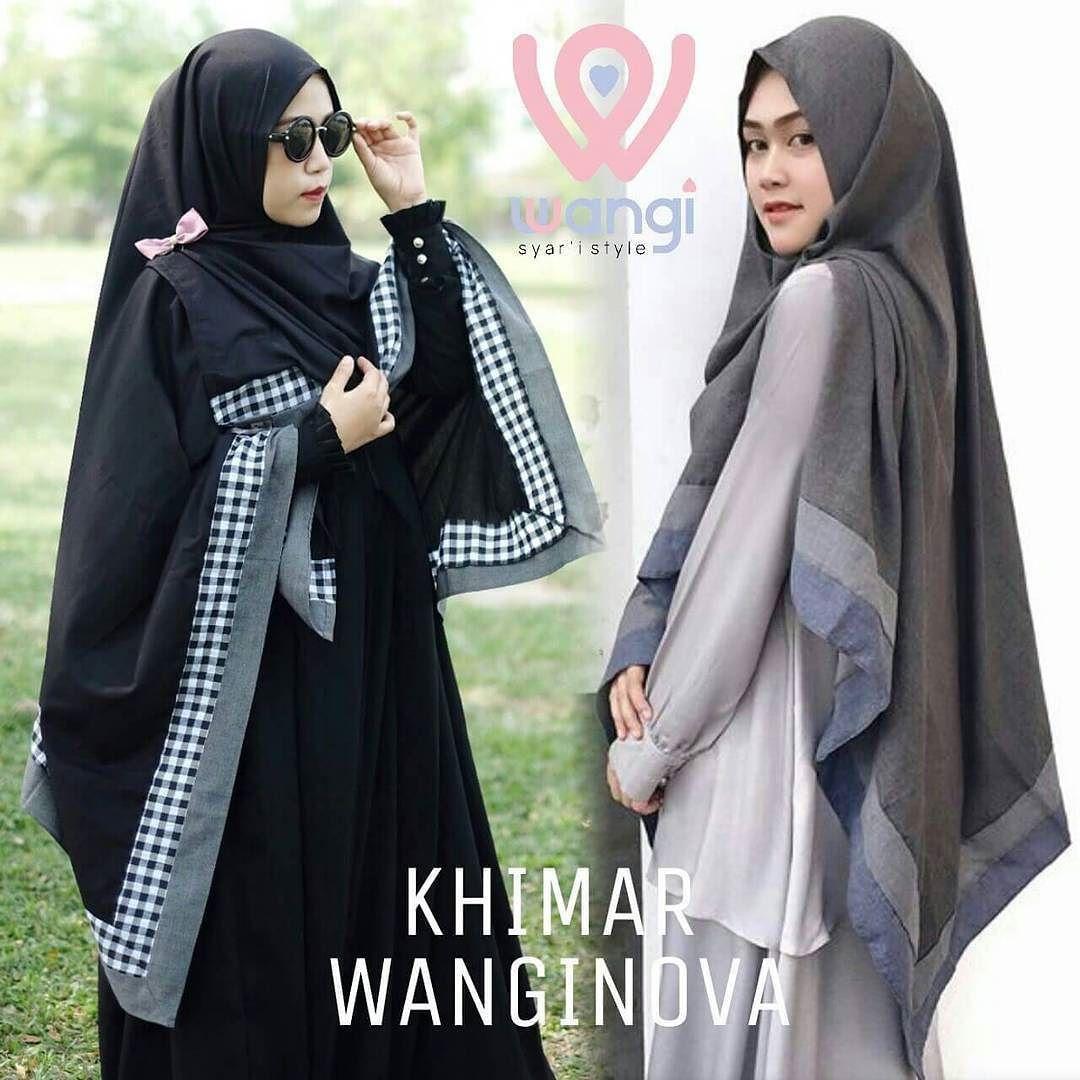 Hijab Khimar Syari Gesper Hijab Khimar Jilbab Khimar Sifon