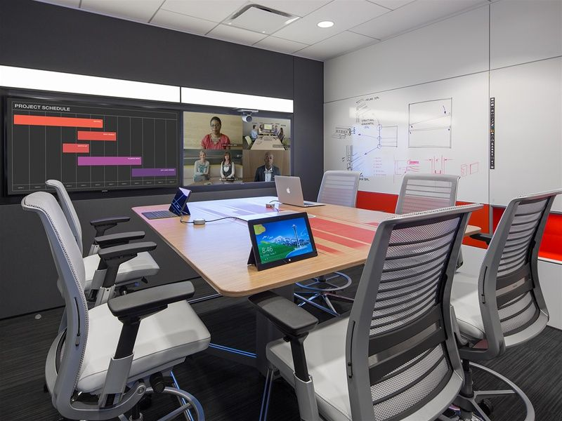 Steelcase Showroom, Media:scape Team Studio With Newly Redesigned Think  Chairs
