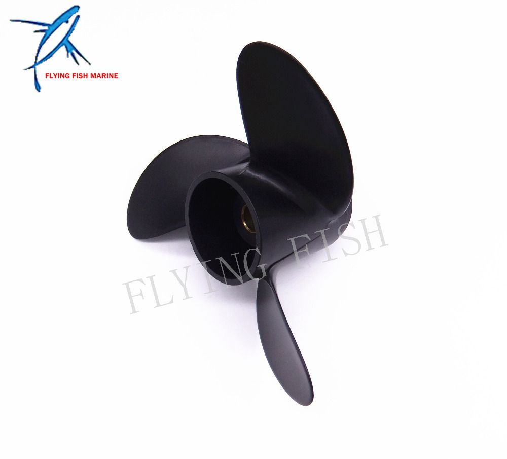 Boat Engine Propeller 7 8x8 For Mercury 2 Stroke 5hp Tohatsu 4hp 5hp 6hp Outboard Motor 7 8 X 8 Boat Engine Outboard Motors Outboard