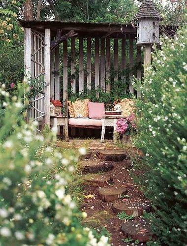 Elegant I Love This DIY Garden Retreat!